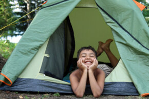 Summer camp is often a child's first extended stay away from his home and family.
