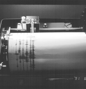 Seismograph in action