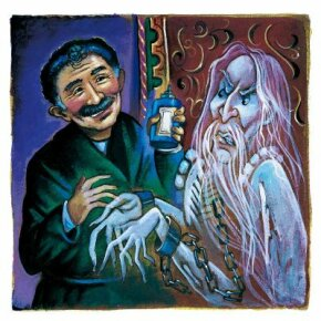 Mr. Otis asks the Canterville Ghost to oil his chains.