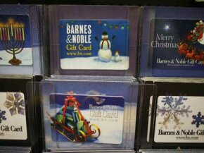 According to a survey from the National Retail Federation, gift cards top people's holiday wish lists.