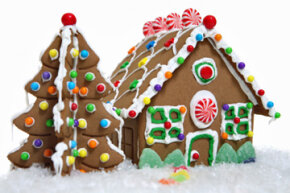 Gingerbread Houses Image Gallery Get creative with your gingerbread; build a house! See more pictures of gingerbread houses.
