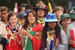 In 2007, scouts from almost every country in the world gathered in England to celebrate scouting's 100th birthday.