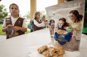 Just because these Girl Scout cookies are gluten-free doesn't mean they are low in calories.