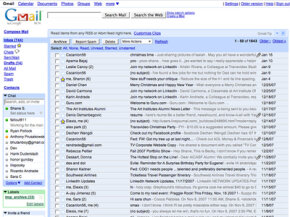 Gmail is a popular free e-mail service powered by Google.