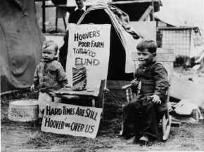 The Great Depression: not a lot of happiness going around.
