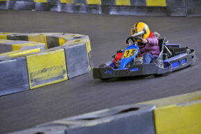 Drivers of (nearly) all ages can enjoy kart racing.