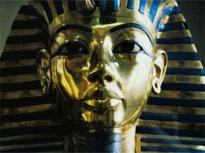 The exquisite, invaluable mask of King Tut