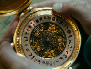 """The alethiometer in action in """"The Golden Compass."""" See more images of animated movies."""