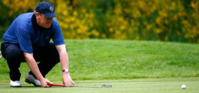 Golf clubs come in woods, irons and putters. See more sports pictures.