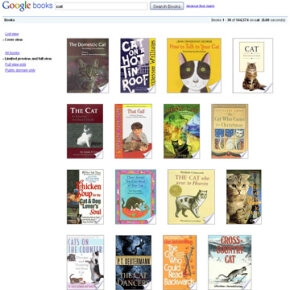 If Google has its way, you'll eventually be able to use a keyword search to find text from almost every book ever written. See more pictures of popular Web sites.