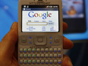 A new software platform for mobile phones introduced by Google in early 2008 will make it easier for many investors to track their portfolios online from almost anywhere.