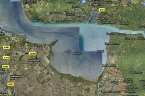 Dollart Bay sits between Germany and the Netherlands, but there is some dispute about where the boundary between the two countries should fall within the body of water.