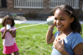 Kids still make this simple telephone, but it can't do everything Google Voice can do. See more essential gadgets pictures.