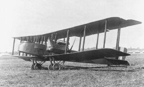 "The Gotha G.V had two ""pusher"" engines, mounted aft of the nose, and was a pioneer in the use of steel in airplane construction. See more classic airplane pictures."