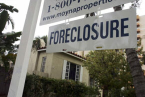 Foreclosures on homes, like this one in Miami, were expected to hit 1 million in 2008.