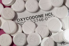 New York City police rigged dummy bottles of oxcycodone with GPS devices to track supplies stolen from pharmacies.