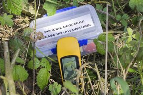 A GPS device is an essential part of Geocaching.