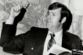 """Graham Kerr was Canada's breakout television cook, filming his show """"The Galloping Gourmet"""" from 1969 to 1971."""
