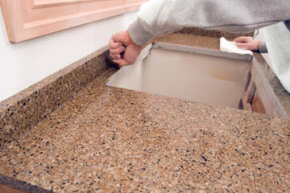 Granite comes in many colors and patterns, and no two pieces are identical. See more home construction pictures.