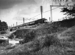 The scene of the Great Train Robbery: the largest train heist in Britain's history.