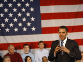 Barack Obama plans to increase the number on green-collar jobs in America. He spoke in March, 2008 at a meeting on green jobs in Ohio.