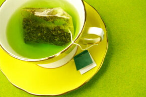 What can a few cups of green tea do for your skin?