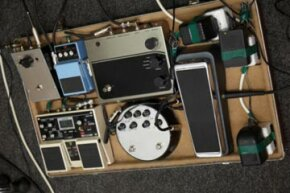 If you want your own signature sound, a personal pedal board is the way to go.