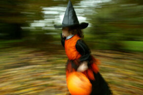 Any witch needs a gurgling kettle, right? See more pictures of Halloween candy.