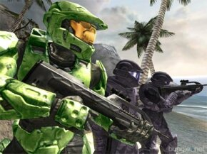 """Master Chief and the Marines are at it again in """"Halo 2."""" See more Halo pictures."""