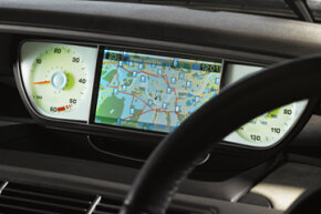 Car Gadget Image Gallery Some cars have a GPS system built in to the dashboard. See more pictures of car gadgets.