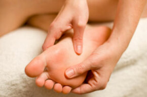 Thicker skin on your hands and feet help you endure friction while picking things up or walking.