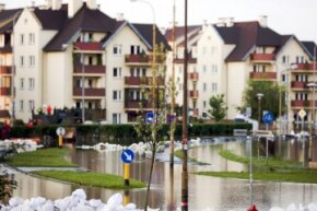 Did your residence get hammered by extensive flooding? That may qualify you for the hardship exemption under the Affordable Care Act. Don't forget the supporting documentation in your application!