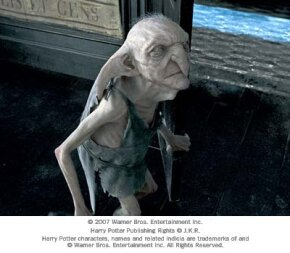 """Kreacher the house elf from Warner Bros. Pictures' fantasy """"Harry Potter and the Order of the Phoenix."""""""