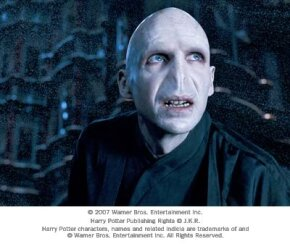 """Ralph Fiennes as Lord Voldemort in Warner Bros. Pictures' fantasy """"Harry Potter and the Order of the Phoenix."""""""