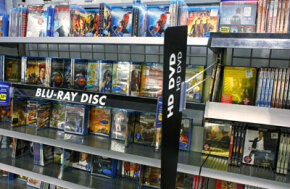 The fall of the HD-DVD format means that retail chains like Best Buy no longer need to have two separate sections for high-definition media.