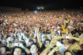 Concerts like this KROQ rock concert are one of the leading causes of hearing loss.