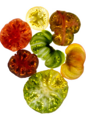 Go ahead - try a new tomato variety. See more heirloom tomato pictures.