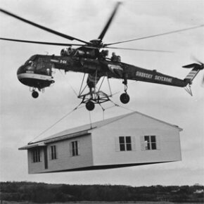 Welcome to the strange and wonderful world of helicopters, a place where hoisting complete prefabricated houses, enacting death-defying rescues and generally venturing where no other machines can go is all in a day's work. See more flight pictures.