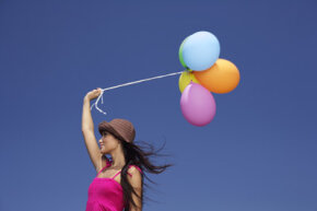 Why do ballons fly away when you let go of them? We've got the answer.