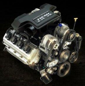 5.7-liter HEMI Magnum V-8 engine. See more car engine pictures.