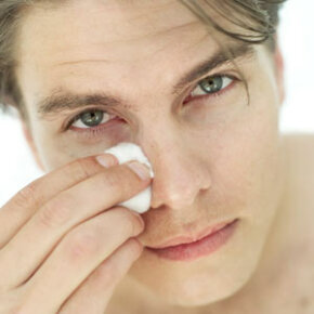 Cool compresses and good sleep habits can help cut down on puffiness under the eyes. See more getting beautiful skin pictures.