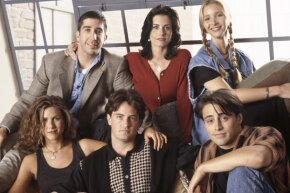 """The cast of """"Friends"""" probably got even more friendly when their salaries shot up to $1 million per episode."""