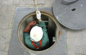 Sewer workers clean the bowels of the city to keep our waste out of the streets and to keep our water clean.