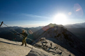Ascending to sites like Half Dome in Yosemite National Park is just part of the draw of the Sierra Nevada Mountains. See more pictures of national parks.