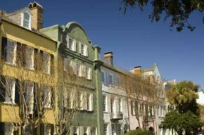 Historic homes on Charleston's famed Rainbow Row. See more pictures of home design.