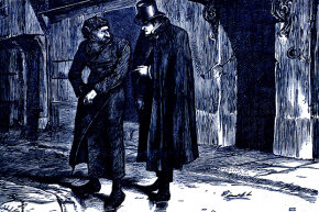 "When people hear the word ""Dickensian"" they imagine a scene like this one from ""Oliver Twist"" — a place full of darkness and grime. But ""Dickensian"" can also meant characters that are larger than life or portrayed sentimentally."