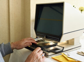 Before Google, there was microfiche.