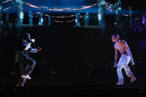 """When deceased rapper Tupac Shakur appeared alongside Snoop Dogg at the 2012 Coachella Valley Music & Arts Festival, the Internet exploded with hologram talk, but the magic was actually courtesy of an old theatrical trick called """"Pepper's Ghost."""""""