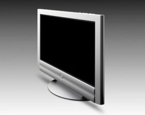 A flat-panel plasma television from Sony
