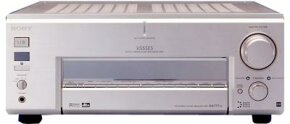 A surround-sound stereo receiver from Sony